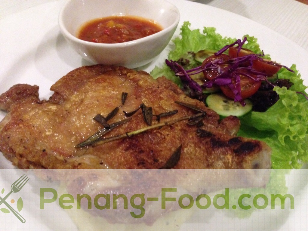 Chef's special marinating & pan seared to perfection served with red sauce